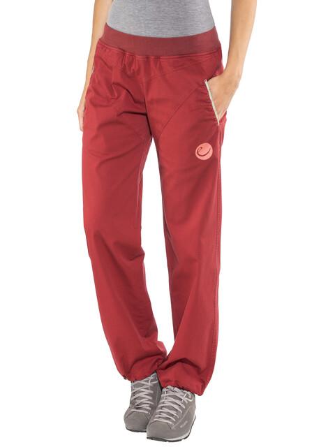 Edelrid Kamikaze III Pants Women vine red